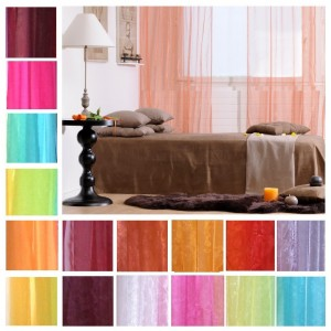 Tab Top Organza Voile Curtain €8.50