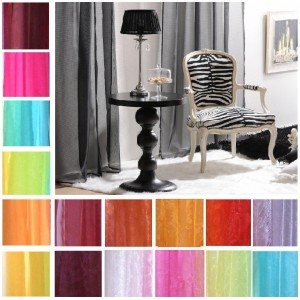 Extra Long Tab Top Voile Curtain €8.50