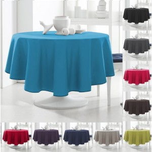 "Round High Quality Tablecloth 180cm 70"" only €10.95"