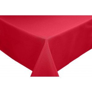 Red Round & Rectangulare Fabric Tablecloths
