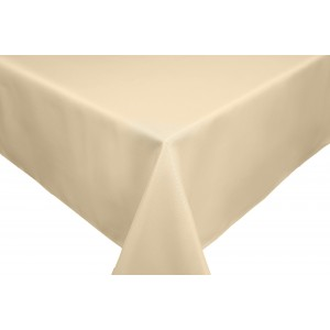 Ivory Round & Rectangulare Fabric Tablecloths