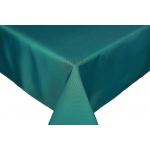 Teal Round & Rectangulare Fabric Tablecloths