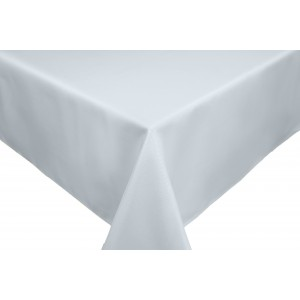 Silver Grey Zinc Round & Rectangulare Fabric Tablecloths