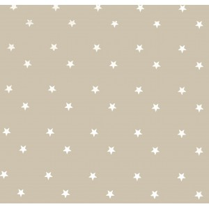 Beige Stars Oilcloths PVC Tablecloths