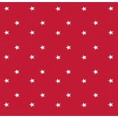 Red Stars Oilcloths PVC Tablecloths