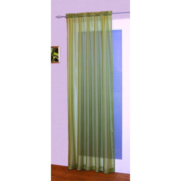 Pale Pink Ring Top Curtains