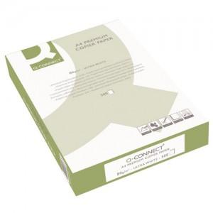 Q-Connect Premium Copier And Laser Paper A4 80gsm White 500 Sheets